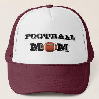 Boné Chapéu do camionista da mamã do futebol