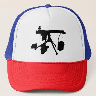 Boné Chapéu do camionista da metralhadora