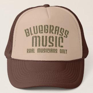 Boné Chapéu do camionista da música de Bluegrass