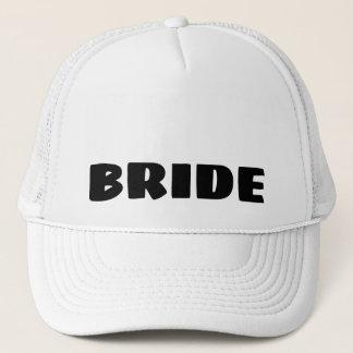 Boné Chapéu do camionista da noiva