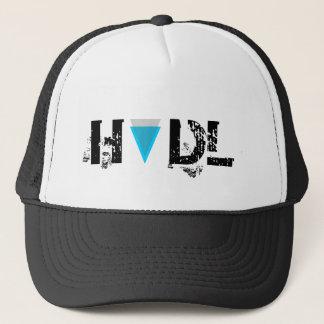 Boné Chapéu do camionista da orla de HODL