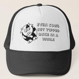 Boné Chapéu do camionista da ponta da vaca