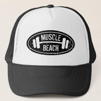 Boné Chapéu do camionista da praia do músculo com