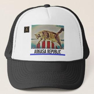 Boné Chapéu do camionista da república de Arkasa