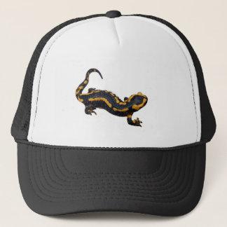Boné Chapéu do camionista da salamandra de fogo