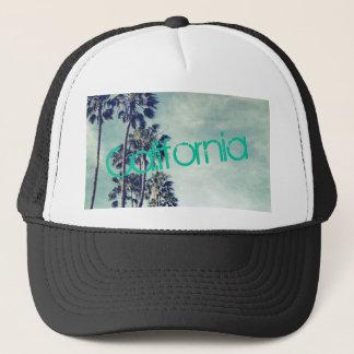 Boné Chapéu do camionista das palmeiras do oceano de
