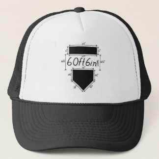 Boné chapéu do camionista de 60ft6in.com