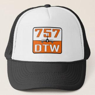 Boné Chapéu do camionista de 757 DTW