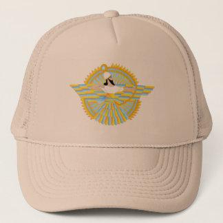 Boné Chapéu do camionista de Alaha Ashur