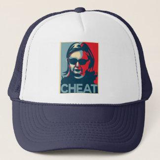 Boné Chapéu do camionista de Anti-Hillary Clinton da
