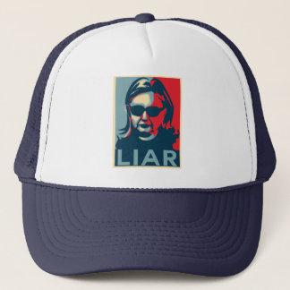 Boné Chapéu do camionista de Anti-Hillary Clinton do
