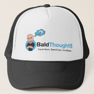 Boné chapéu do camionista de BaldThoughts.com