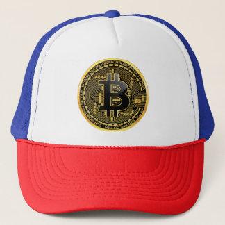 Boné Chapéu do camionista de Bitcoin