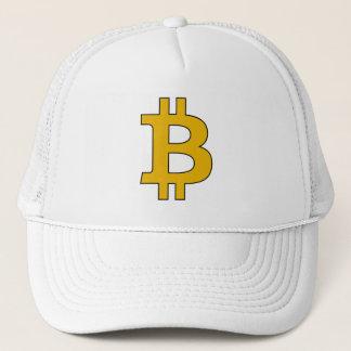 Boné Chapéu do camionista de Bitcoin - alerta do