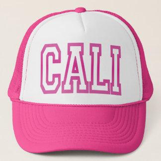 Boné Chapéu do camionista de CALI Califórnia (rosa)