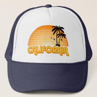 Boné Chapéu do camionista de Califórnia do vintage