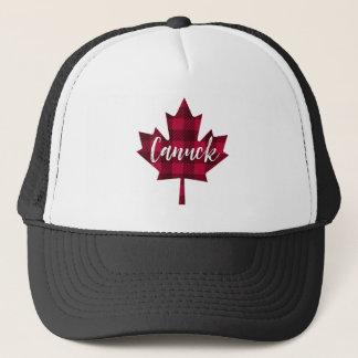 Boné Chapéu do camionista de Canuck da folha de bordo