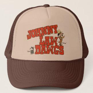 Boné Chapéu do camionista de Dawgs da lei de Johnny