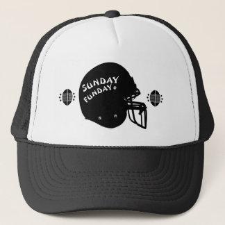 Boné Chapéu do camionista de domingo Funday