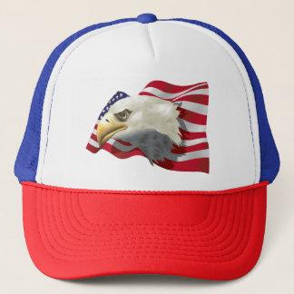 Boné Chapéu do camionista de Eagle do americano