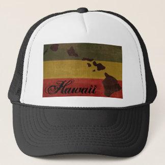 Boné Chapéu do camionista de Havaí Rasta