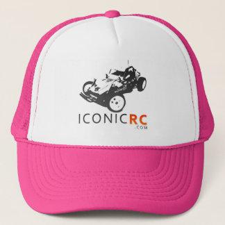 Boné Chapéu do camionista de IconicRC - rosa