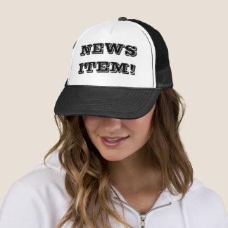 Boné Chapéu do camionista de Item© da notícia