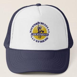 Boné Chapéu do camionista de Macomb LP