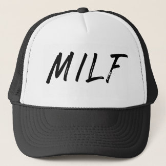 Boné Chapéu do camionista de MILF