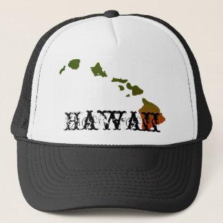 Boné Chapéu do camionista de Rasta Havaí