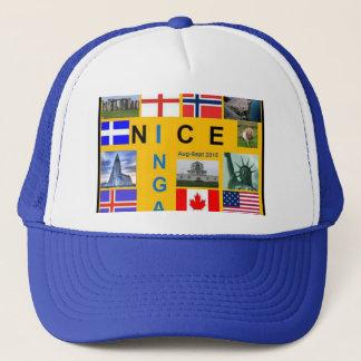 Boné Chapéu do camionista de Shetland