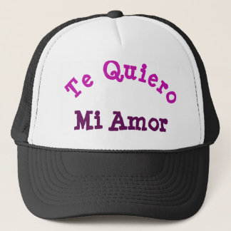 Boné Chapéu do camionista de Te Quiero MI Amor