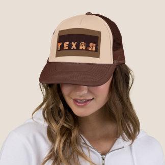 Boné Chapéu do camionista de Texas