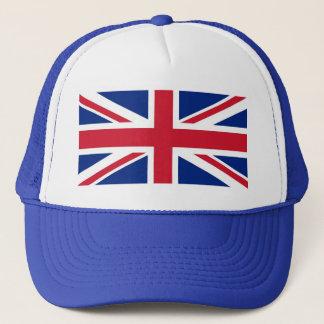 Boné Chapéu do camionista de Union Jack