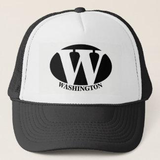 Boné Chapéu do camionista de WASHINGTON