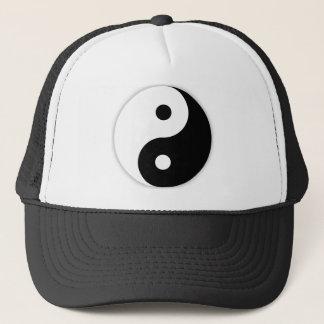 Boné Chapéu do camionista de Yin e de Yang