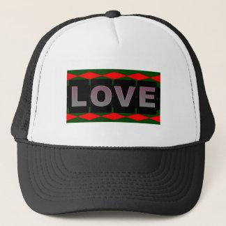 Boné Chapéu do camionista do amor