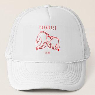 Boné Chapéu do camionista do amor do paraíso