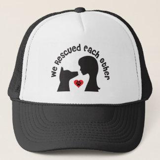Boné Chapéu do camionista do amor do salvamento