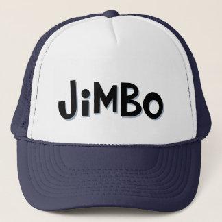 Boné Chapéu do camionista do apelido de JIMBO