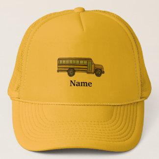 Boné Chapéu do camionista do auto escolar