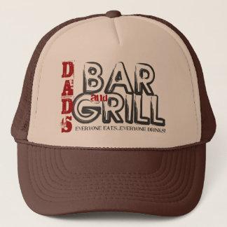 Boné Chapéu do camionista do bar e grill do pai