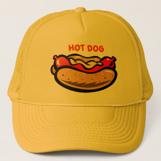 Boné Chapéu do camionista do cachorro quente por mini