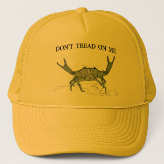 Boné Chapéu do camionista do caranguejo de Gadsden