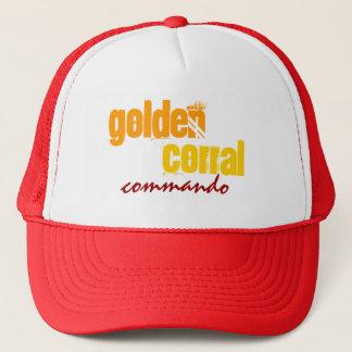 """Boné """"Chapéu do camionista do COMANDO DOURADO da CERCA"""""""