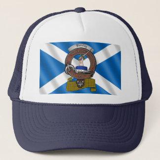 Boné Chapéu do camionista do crachá do clã de Barclay