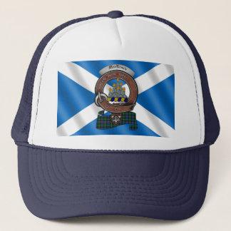 Boné Chapéu do camionista do crachá do clã de MacKenzie