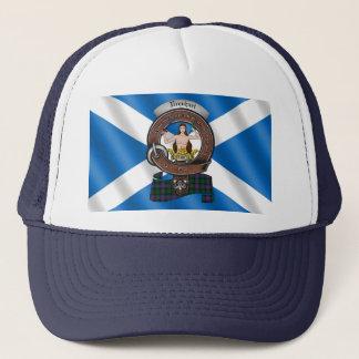 Boné Chapéu do camionista do crachá do clã de Urquhart