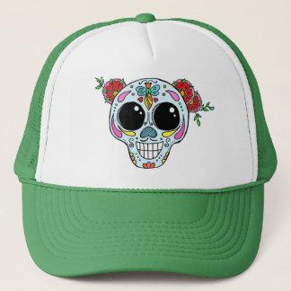 Boné Chapéu do camionista do crânio do açúcar com