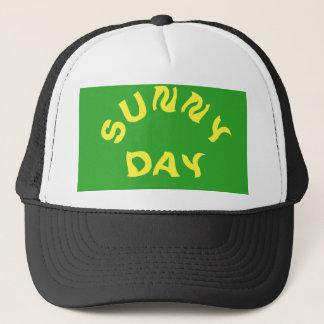 Boné Chapéu do camionista do dia ensolarado